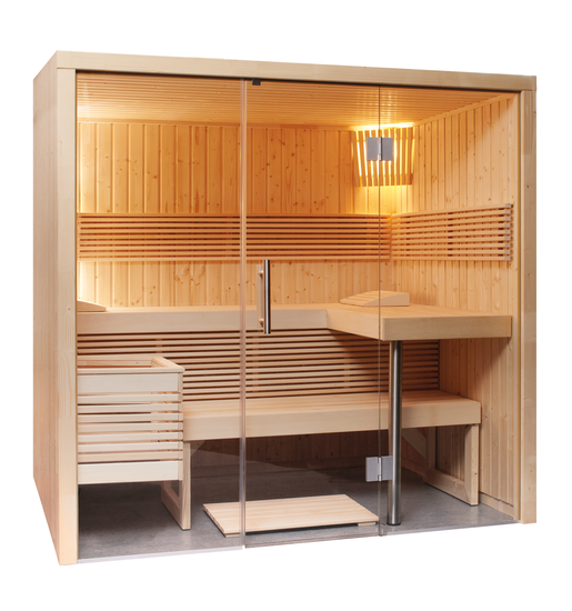 panorama element sauna groot