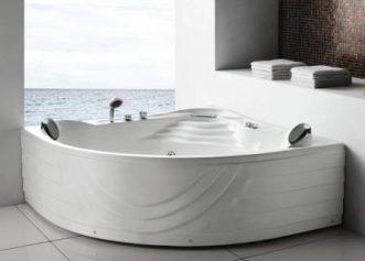 massage bad met waterval