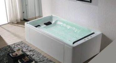 massagebad met waterval