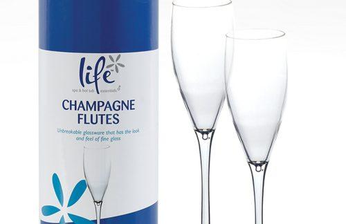champagne flutes voor jacuzzi